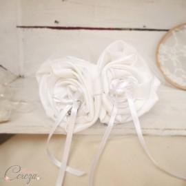 """Porte alliances original floral romantique """"Simplicité"""""""