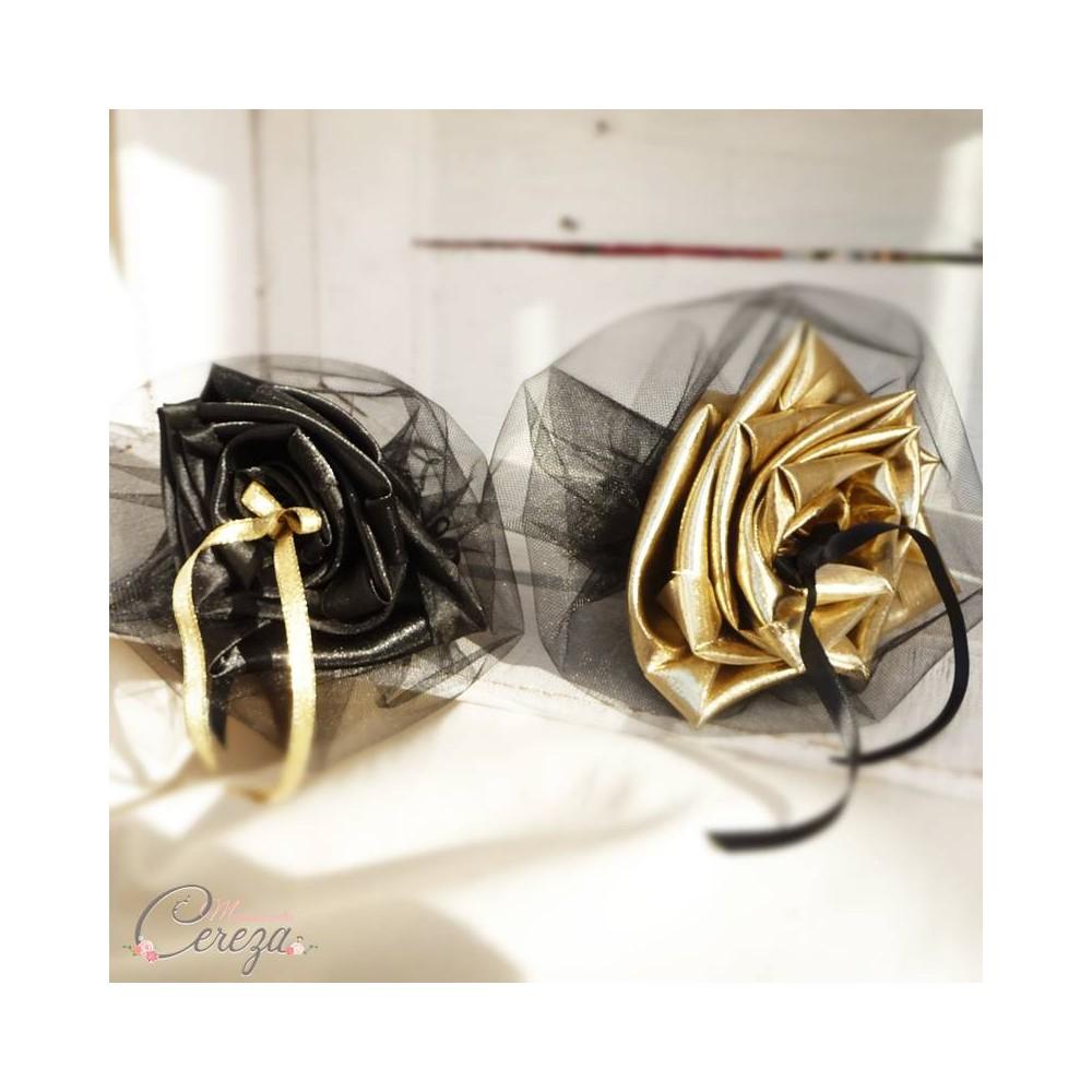 mariagenoir or porte alliances duo coussin alliances original floral. Black Bedroom Furniture Sets. Home Design Ideas