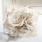 """Bouquet de mariée partition de musique original atypique """"Valse de Vienne"""""""