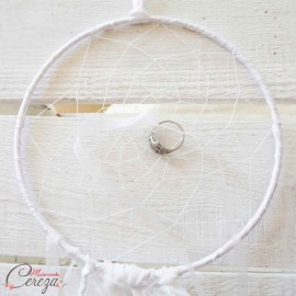 "Porte-alliances bohème chic poétique ""Dreamcatcher"" original"