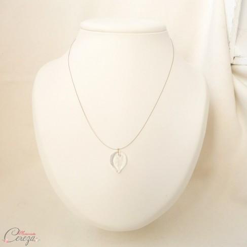 Collier mariée cristal nature chic minimaliste \u0027Alyssa\u0027 , bijoux mariage  personnalisables
