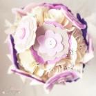 Bouquet de mariée original éternel sur-mesure - Réservé Melle  H.
