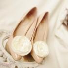 Bijoux de chaussure clips fleur personnalisables Laura