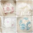 Bouquet de mariée original romantique pastel Agathe