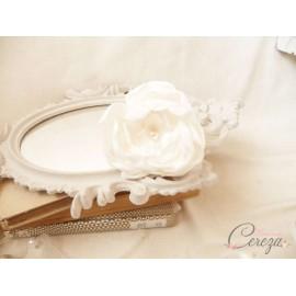 Bijoux de tête Pivoine et accessoires mariage personnalisés - SOLDE réservé Melle B.
