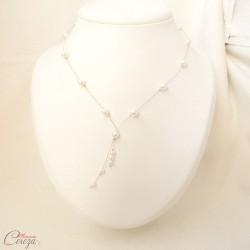 Collier de mariée perles original chic romantique 'Nelly'