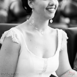 Collier mariée ras de cou bohème chic feuille et cristal Swarovski personnalisable 'Alyssa 2'