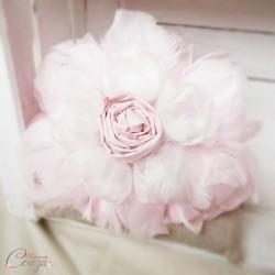 Bouquet de mariée Pivoine de plumes sur-mesure réservé Melle D.