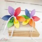 Porte-alliances mariage gay sur-mesure Duo de fleurs indépendantes