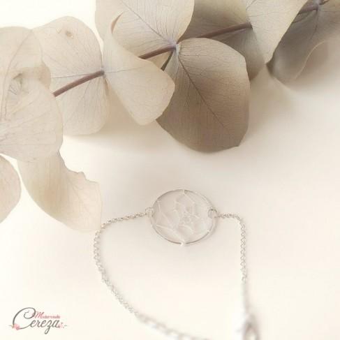 "Bracelet mariage attrape-reve boheme ""Dreamcatcher""  Bijou mariage"