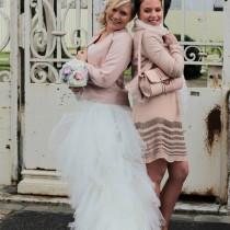 mariage ivoire rose gris bouquet mariee original tissu cereza mademoiselle