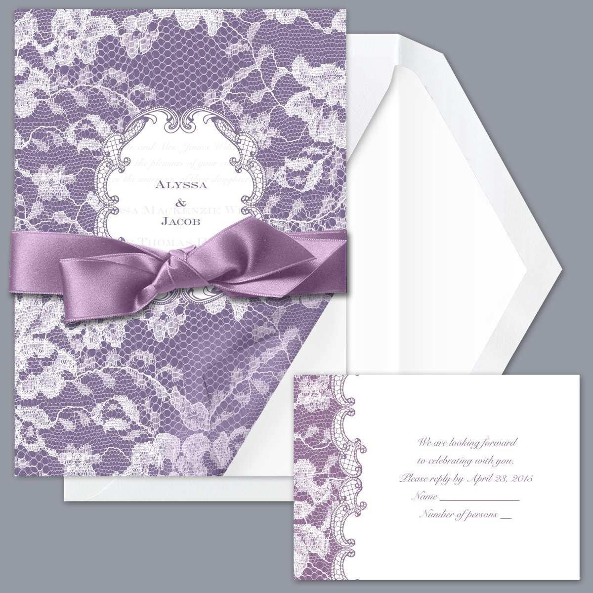 Décoration Mauve Et Gris mariage violet argent, parme, mauve et gris planche d