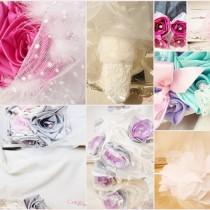 mariage bouquet mariee original éternel tissu personnalisé sur mesure dentelle plumes cereza deco