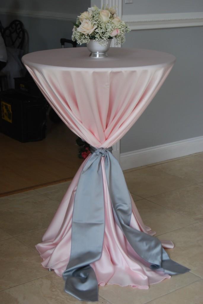 Id es mariage rose gris personnalis planche d - Deco table rose gris ...