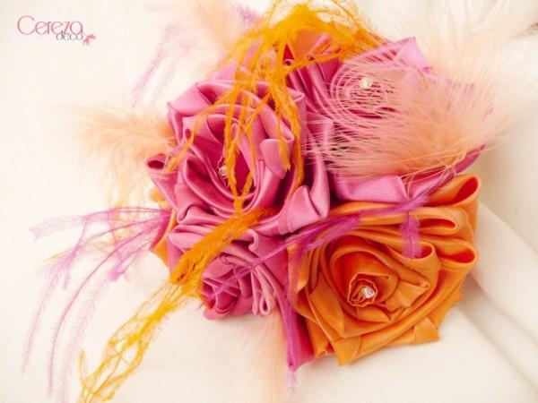 mariage bollywood bouquet mari