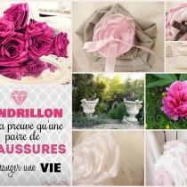 mariage rose romantique bouquet mariee tissu personnalisé rose poudré bijou original cereza deco