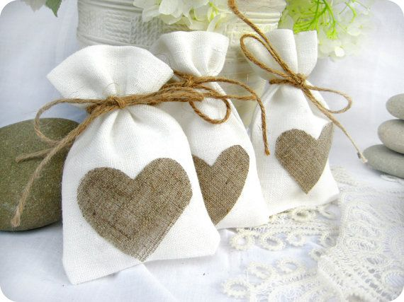 idee sachet cadeau invite mariage lin champetre campagne chic bucolique Melle Cereza blog mariage