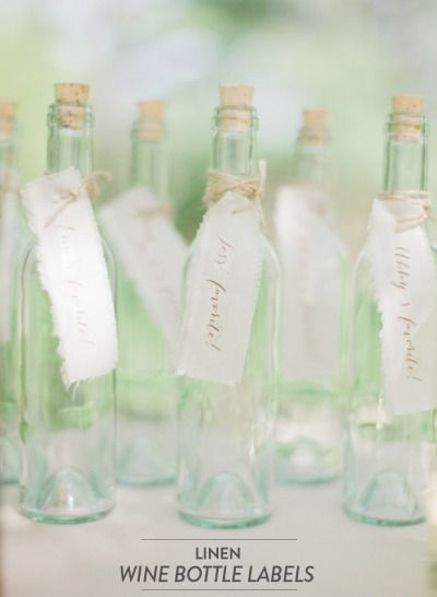 mariage champetre campagne chic customisation bouteille etiquette lin Melle Cereza blog mariage
