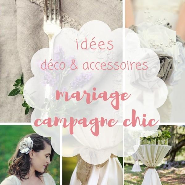 idées pour un mariage campagne chic original Mademoiselle Cereza blog