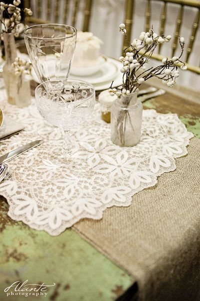 mariage champetre chic campagne lin Melle Cereza blog mariage