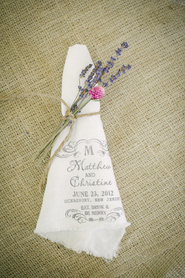 idee pour deco de table personnalisee mariage champetre chic campagne lin (14) Melle Cereza blog mariage