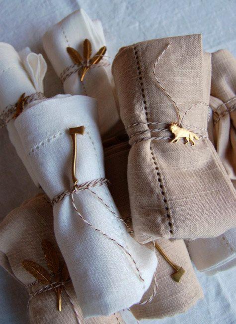 mariage champetre serviette lin decoree chic campagne lin (12) Melle Cereza blog mariage