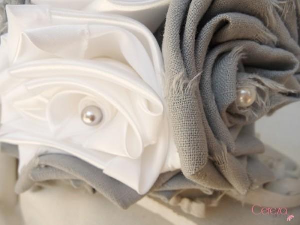 bouquet de mariée éternel lin champêtre gris satin blanc cereza deco 3