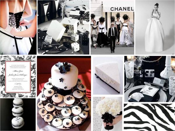 mariage ivoire, noir blanc baroque idee planche inspiration déco originale  table salle Mademoiselle Cereza blog mariage