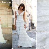 robe de mariee boheme dentelle mariage dentelle cymbeline Mademoiselle cereza deco