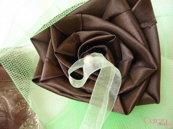porte alliance personnalisé duo original chocolat vert anis cereza deco 2