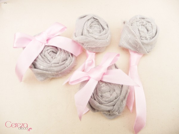 @ boutonniere mariage original gris rose noeud chic cravate 4