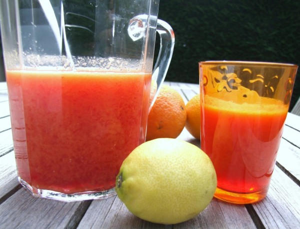 recette jus de fruits à bulles cocktail sans alcool