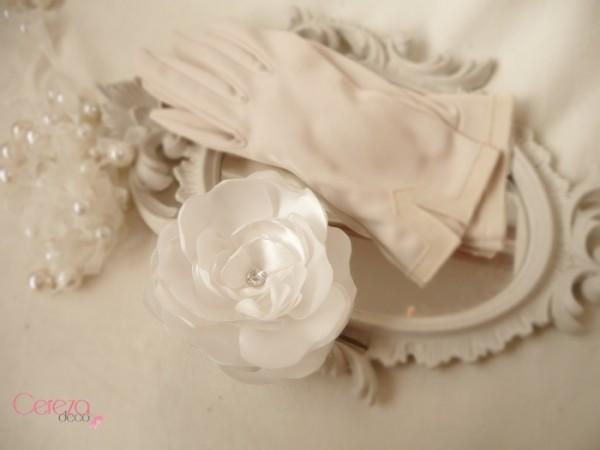 bijou de cheveux mariage fleur pivoine ivoire strass  personnalisee cereza deco 2