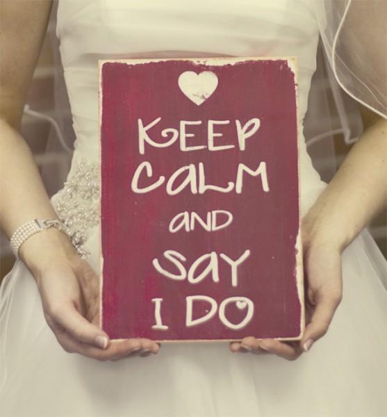 keep calm mariage and say i do
