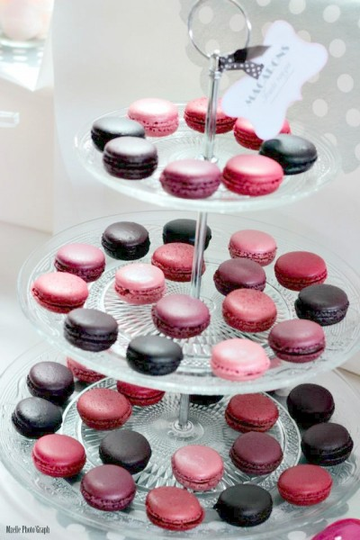 real wedding vrai mariage candy bar rose gris ivoire Mademoiselle Cereza blog mariage