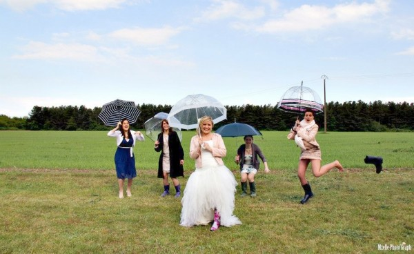real wedding vrai mariage géraldine brice rose gris ivoire Mademoiselle Cereza blog mariage