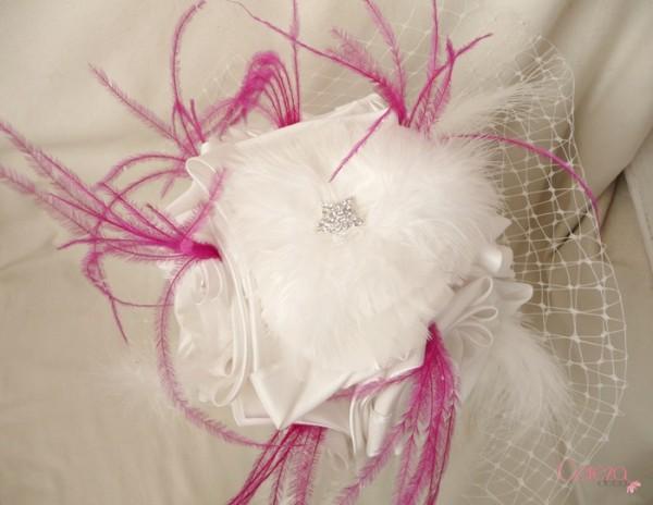 test bouquet 2 Laetitia ivoire fuchsia plumes cereza deco 4