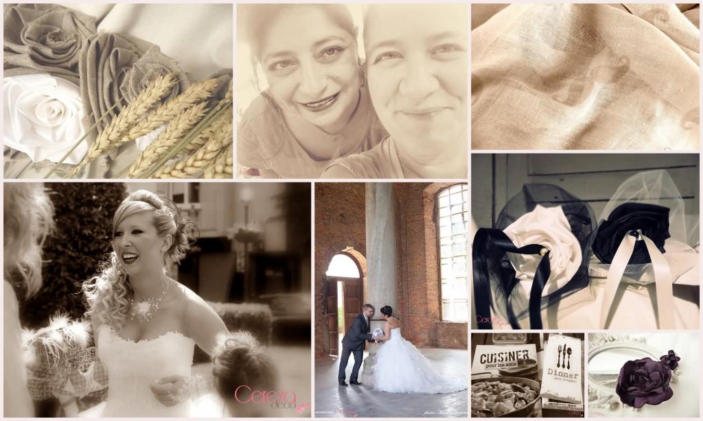 mariage campagne champêtre chic bouquet de mariée original mariage sur-mesure personnalisé cereza deco