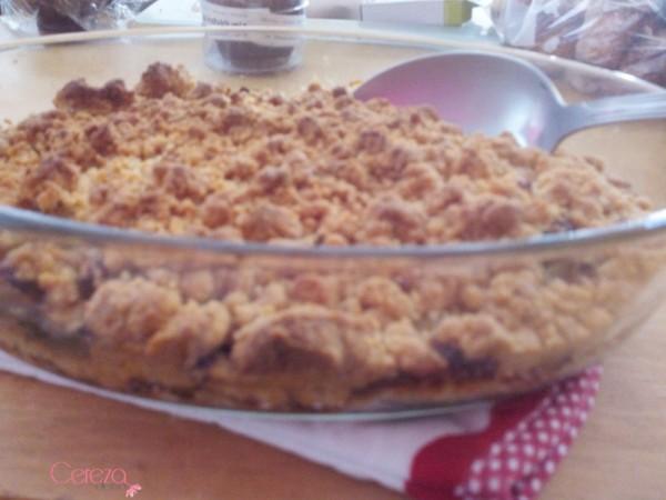 crumble courgette parmesan chèvre recette originale cereza deco