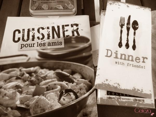 livre recette de cuisine entre copains