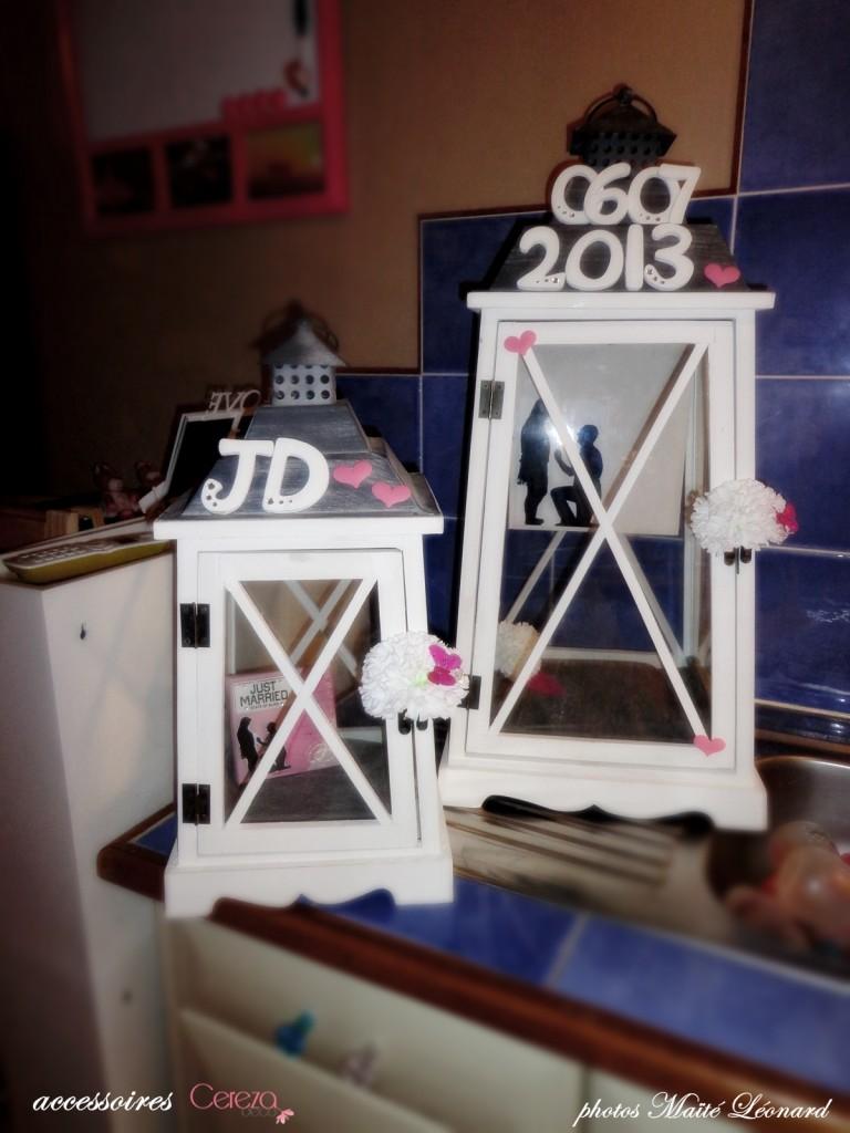 mariage romantique feerique original rose gris blanc urne message Mademoiselle Cereza blog mariage