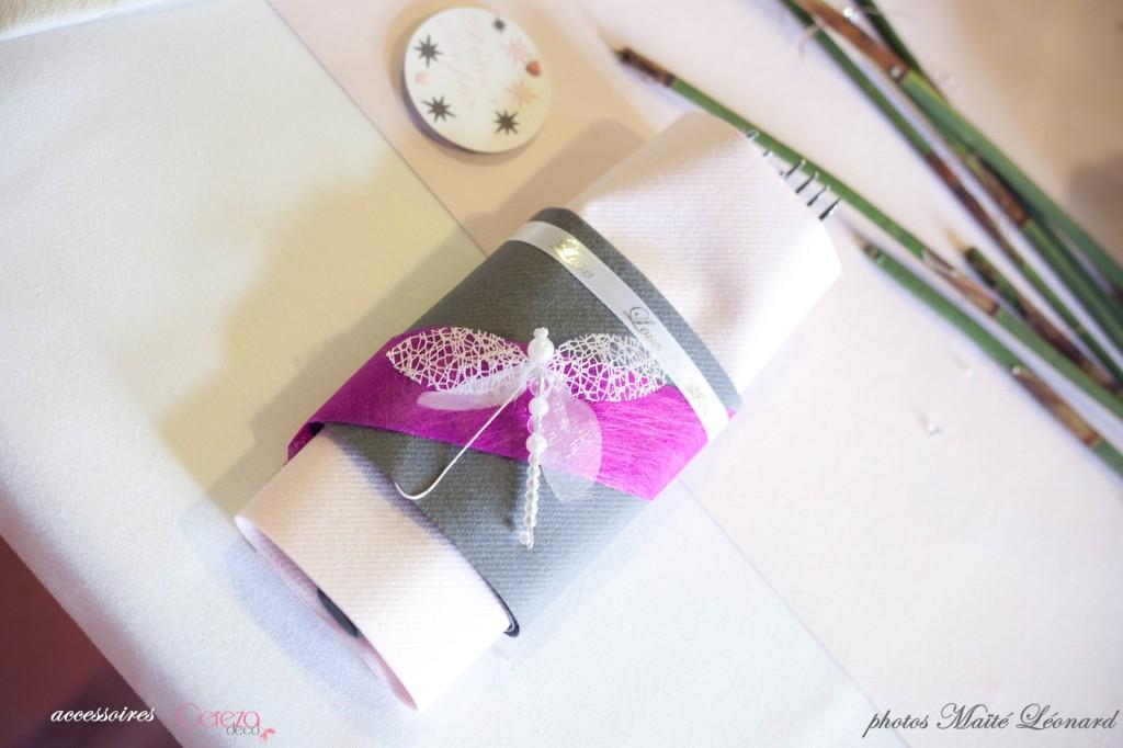 mariage romantique feerique original deco rose gris déco table blanc fuchsia Mademoiselle Cereza blog mariage