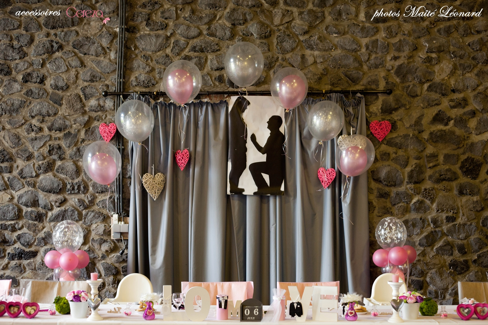 mariage romantique f rique real wedding jennifer david melle cereza blog mariage original. Black Bedroom Furniture Sets. Home Design Ideas