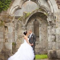 mariage en belgique chic romantique bouquet mariee original cereza deco rose gris blanc Mademoiselle Cereza blog mariage