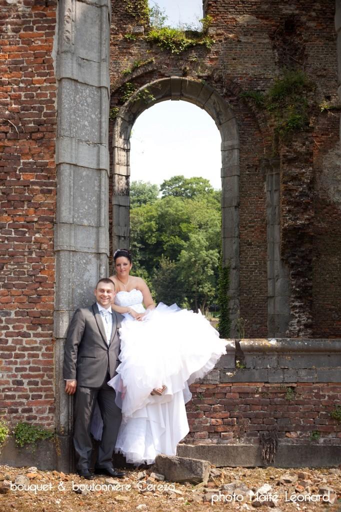 mariage belgique chic romantique bouquet mariee original cereza deco rose gris blanc Mademoiselle Cereza blog mariage