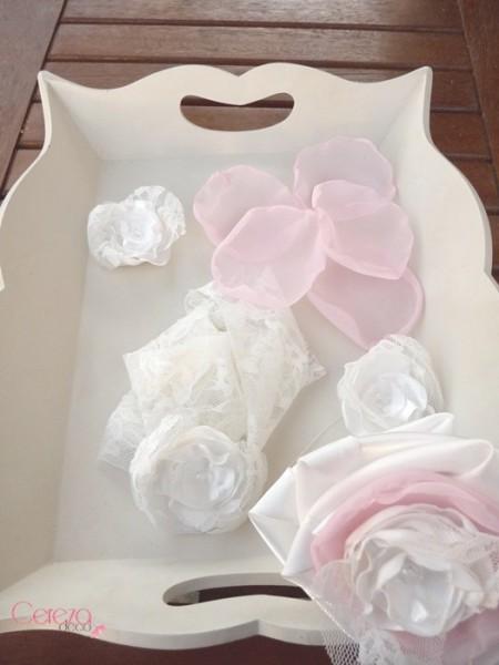 mariage chic dentelle ivoire rose satin bouquet mariée éternel cereza