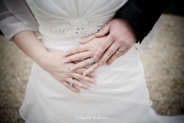 mariage d'hiver argent parme gris bouquet mariée original cereza deco 12