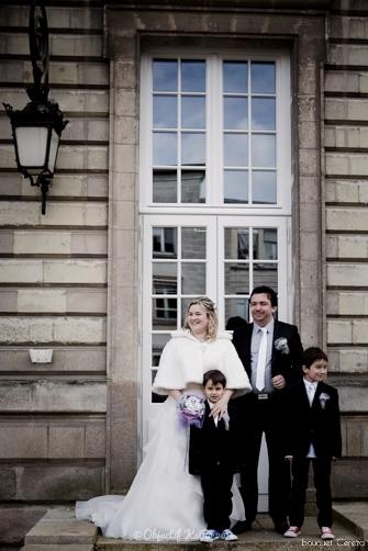 mariage d'hiver argent parme gris bouquet mariée original deco 6 Mademoiselle Cereza blog mariage