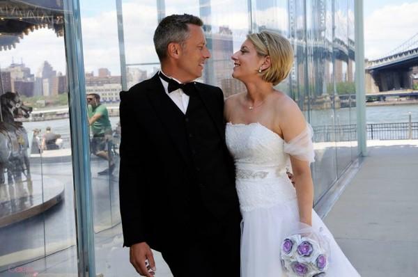 se marier a new york bouquet de mariée tissu éternel bijou dentelle strass cristal cereza 2