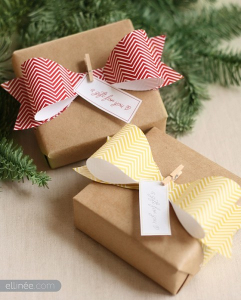 Id 233 Es De Paquets Cadeaux Originaux Pour No 235 L Diy Melle